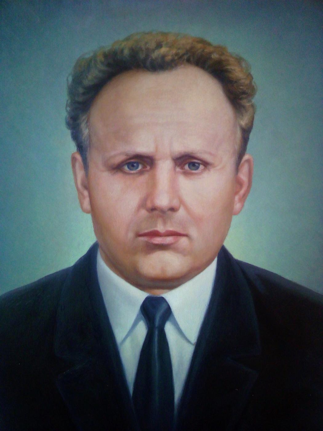 Ruslan Vasilievich Derevtsov. Portrait of a man
