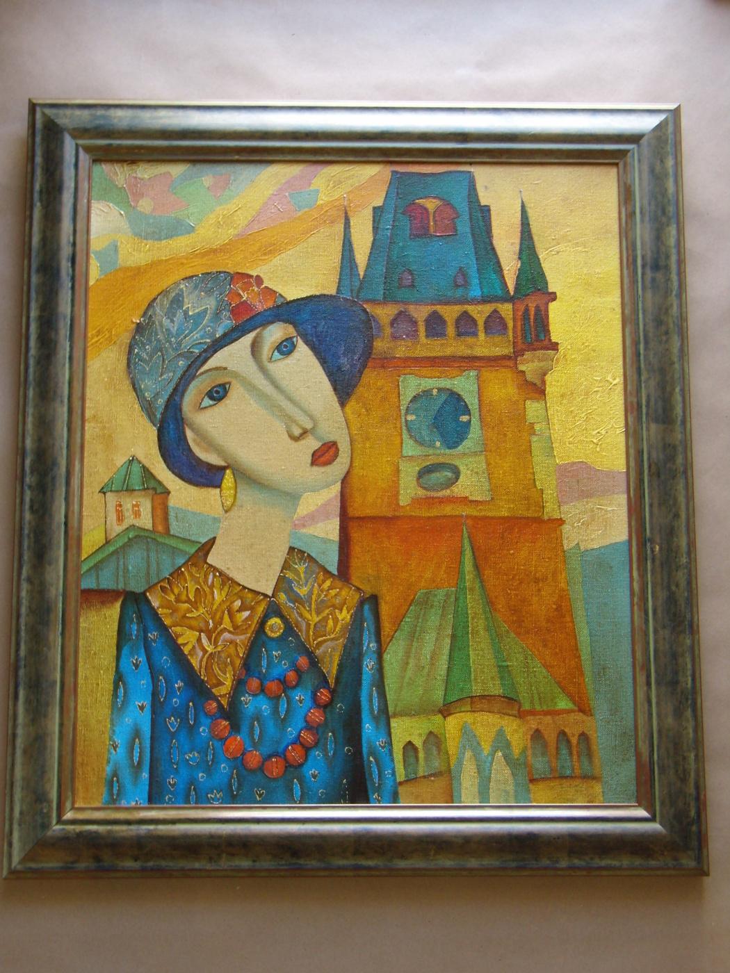 Unknown artist. Женский портрет.