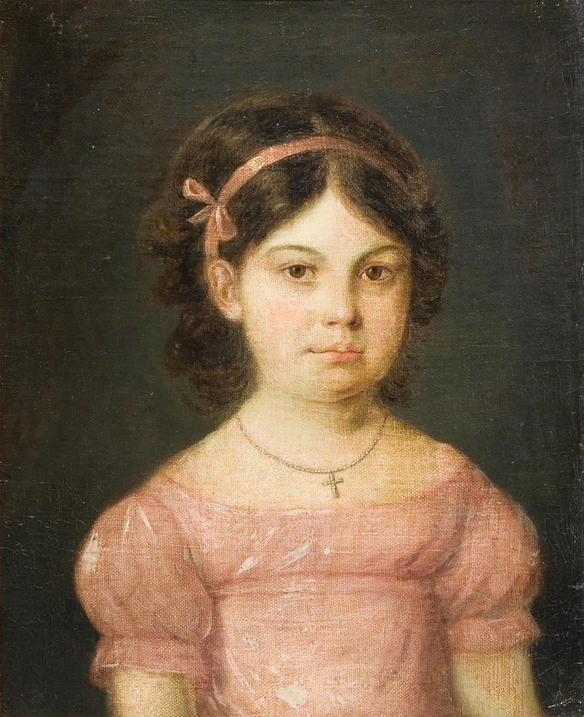 Vera Sergeevna Aksakova. Portrait of Maria Sergeevna Aksakova, married Tomashevskaya