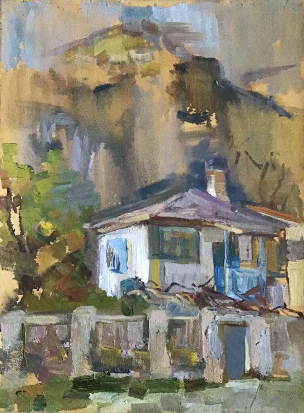 Anastasia Kachaeva. In a rocky village