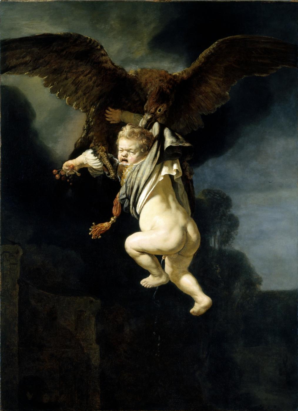Rembrandt Harmenszoon van Rijn. The Abduction Of Ganymede