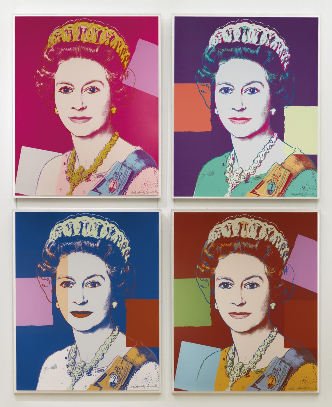 Andy Warho. Королева Елизавета Вторая