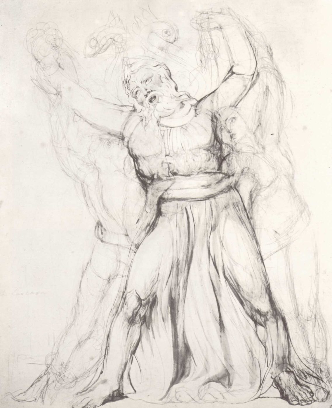 William Blake. Laocoon