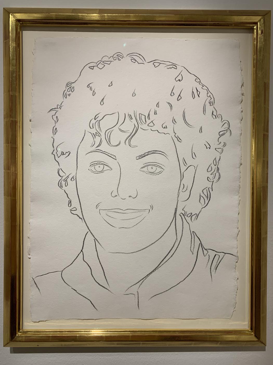 Andy Warho. Michael Jackson