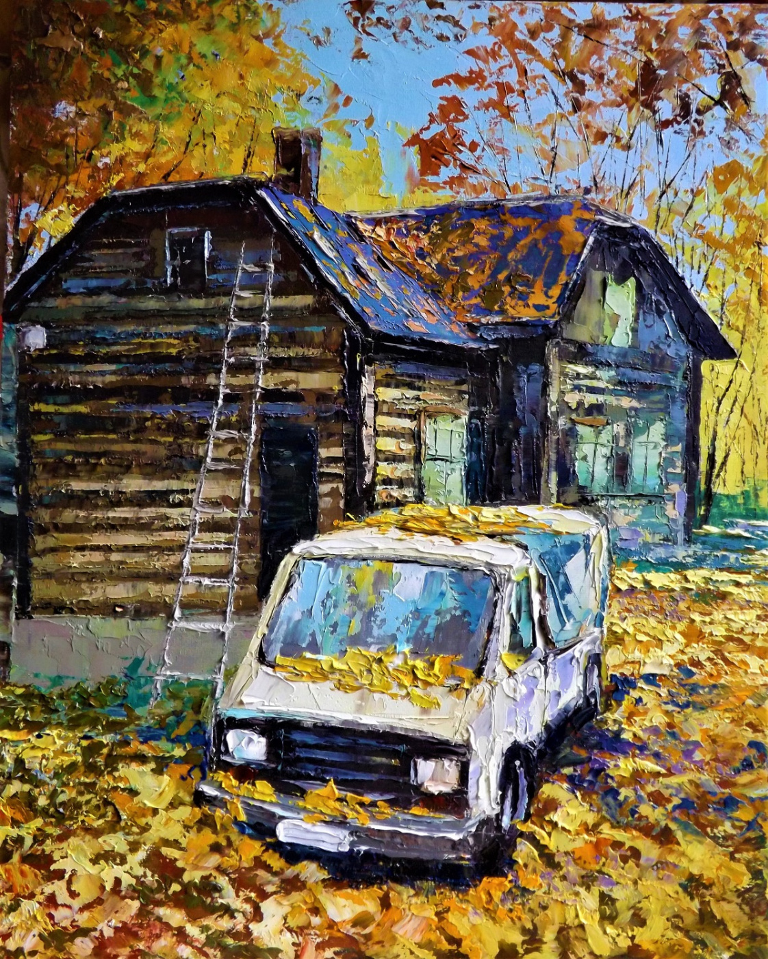 Sergey Yurievich Efremov. The silence of autumn