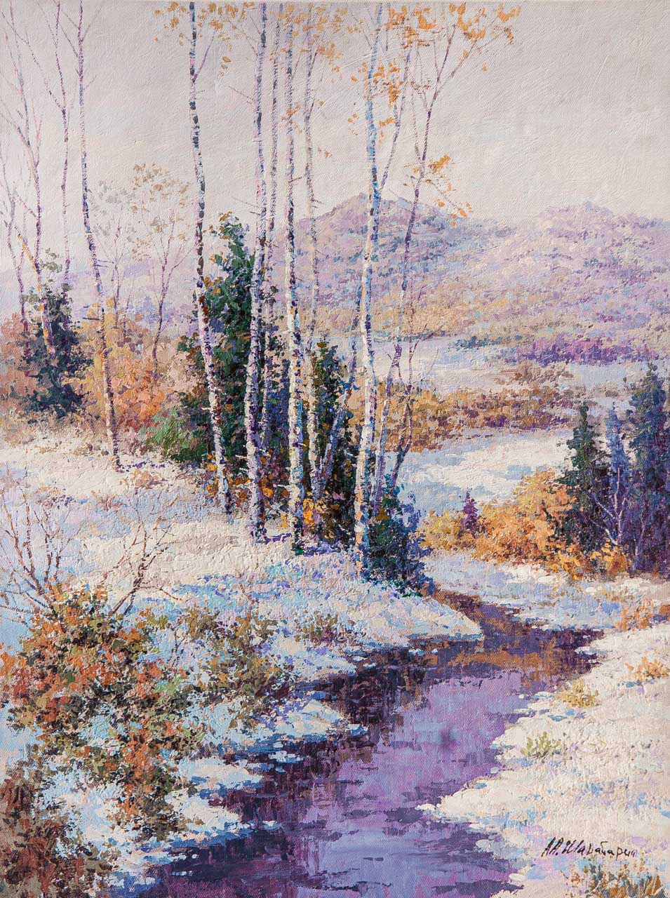 Andrey Sharabarin. Ранний снег в горах
