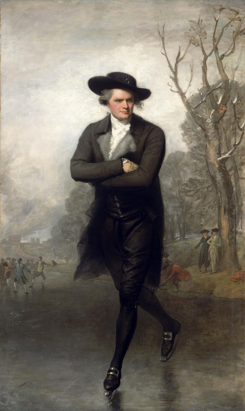 Gilbert Charles Stewart. Skater