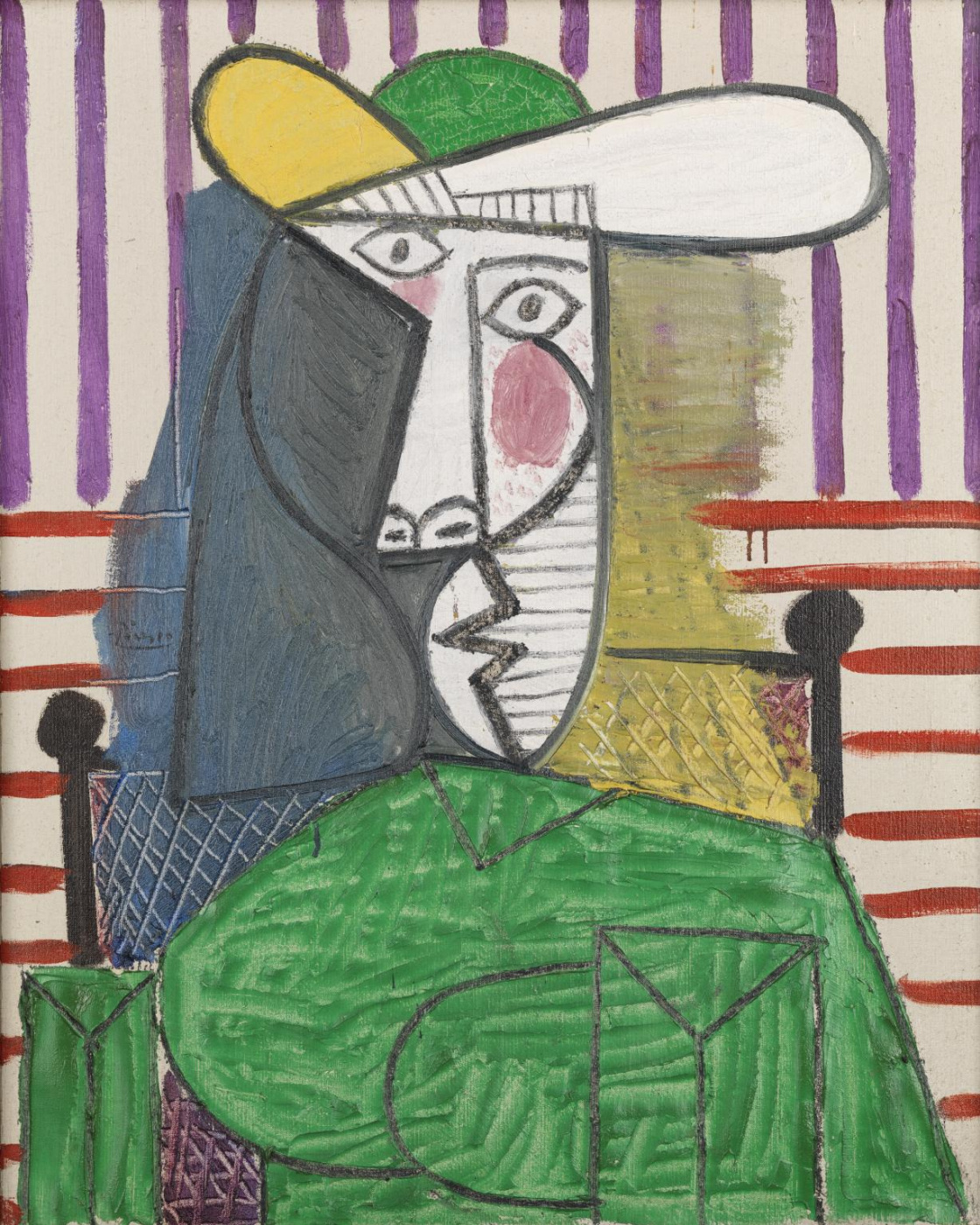 Pablo Picasso. Bust of a Woman