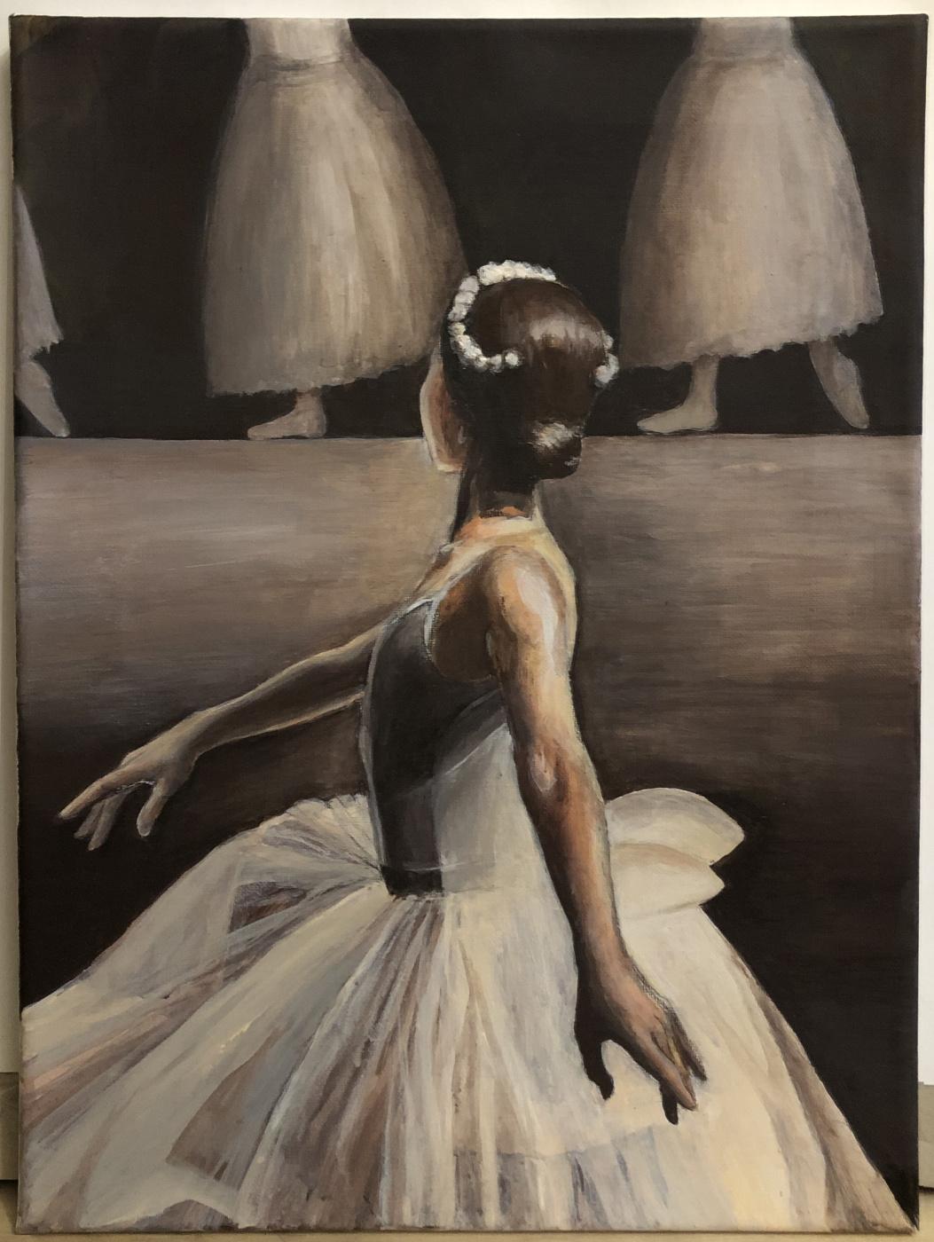 Anna Shuilova. Ballerina