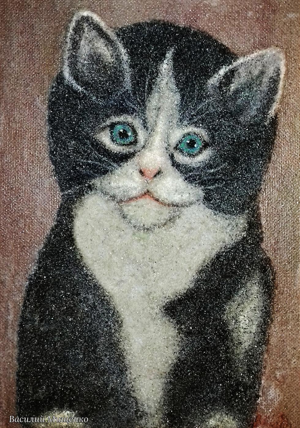 Vasiliy Mishchenko. Kitty