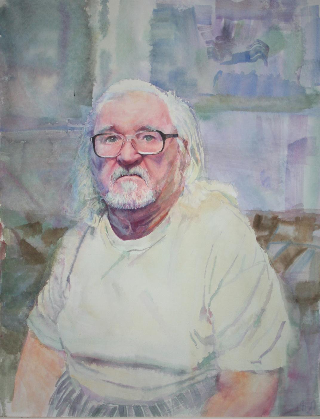 Oktay Alirzaevich Alirzayev. Portrait of art by Yakobchuk.