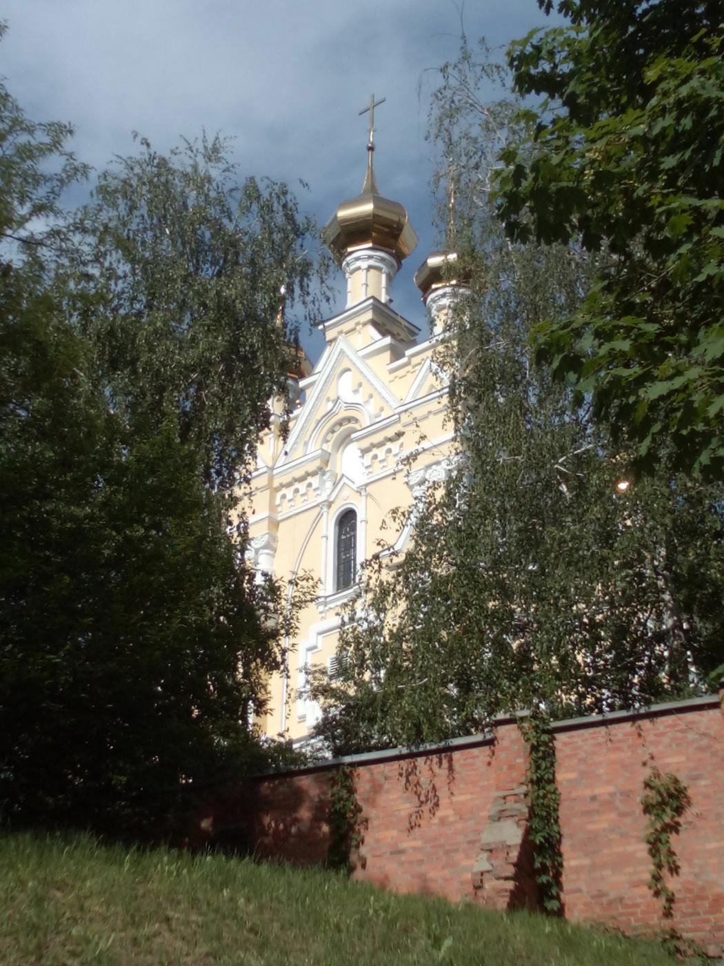 "Alexey Grishankov (Alegri). ""Domes among birches"""