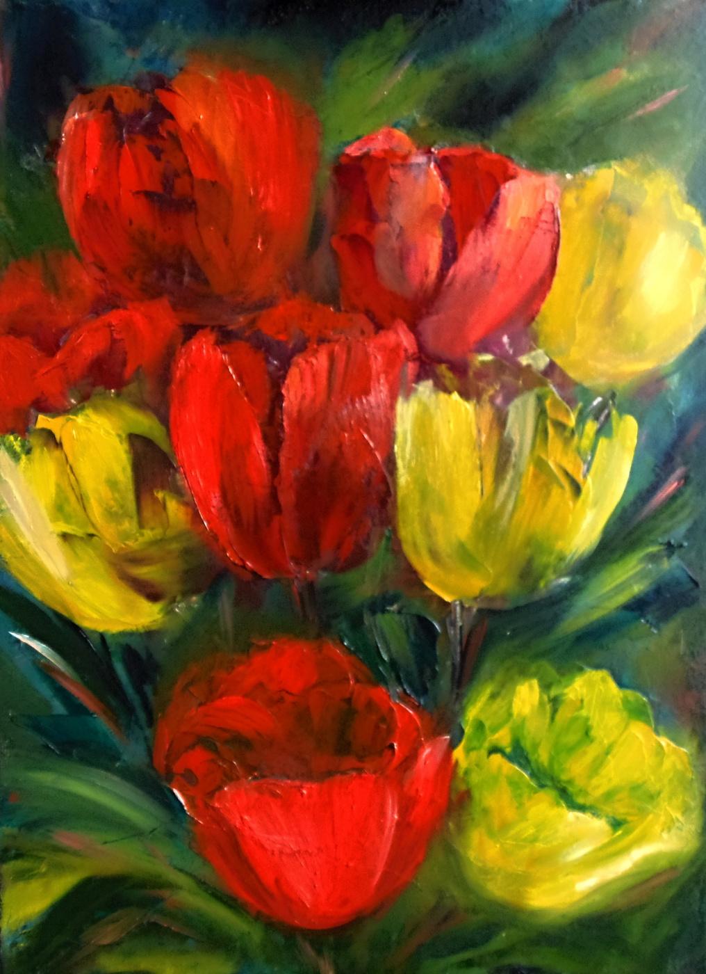 Nata Charivna. Tulips