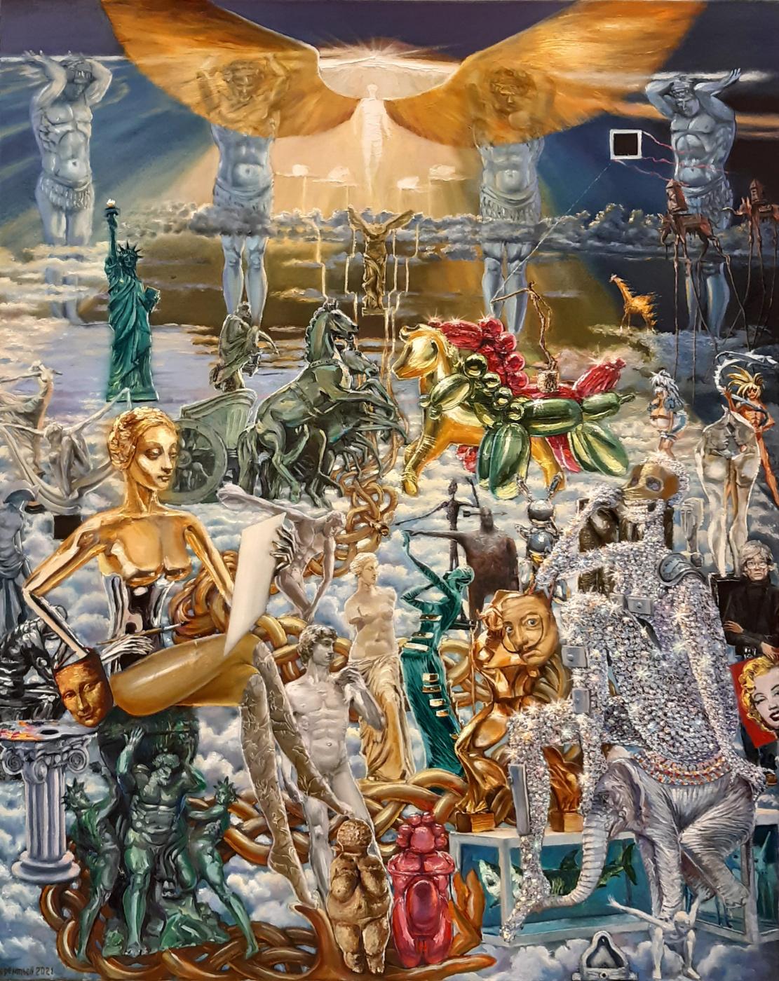 Evgeny Vladimirovich Terentyev. Art icon