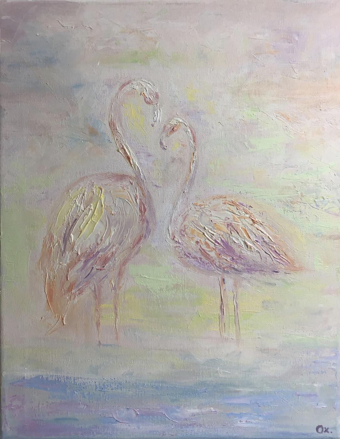 Oxana Mamedova. Flamingo