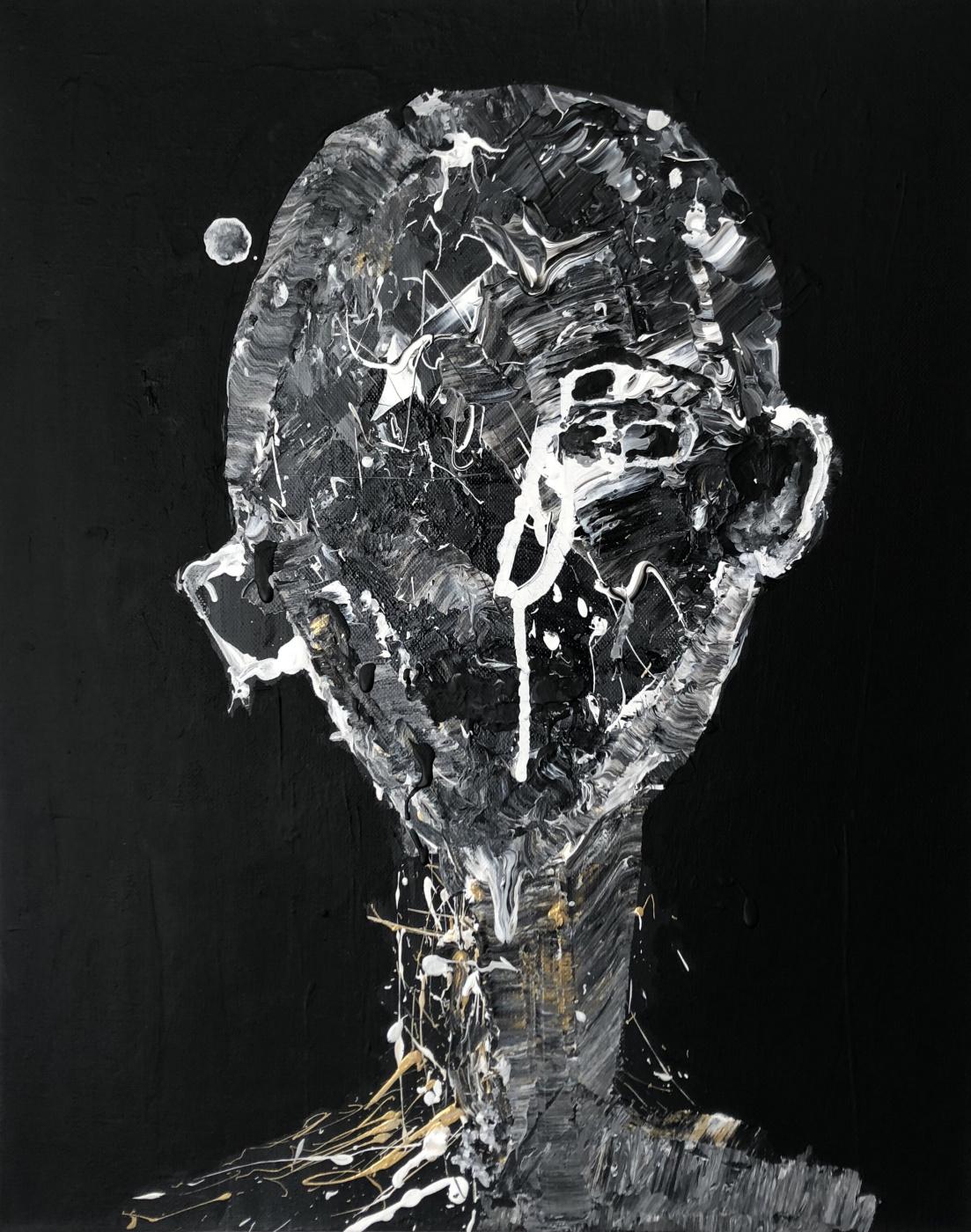 Anna Ageeva. Mixed acrilic on canvas