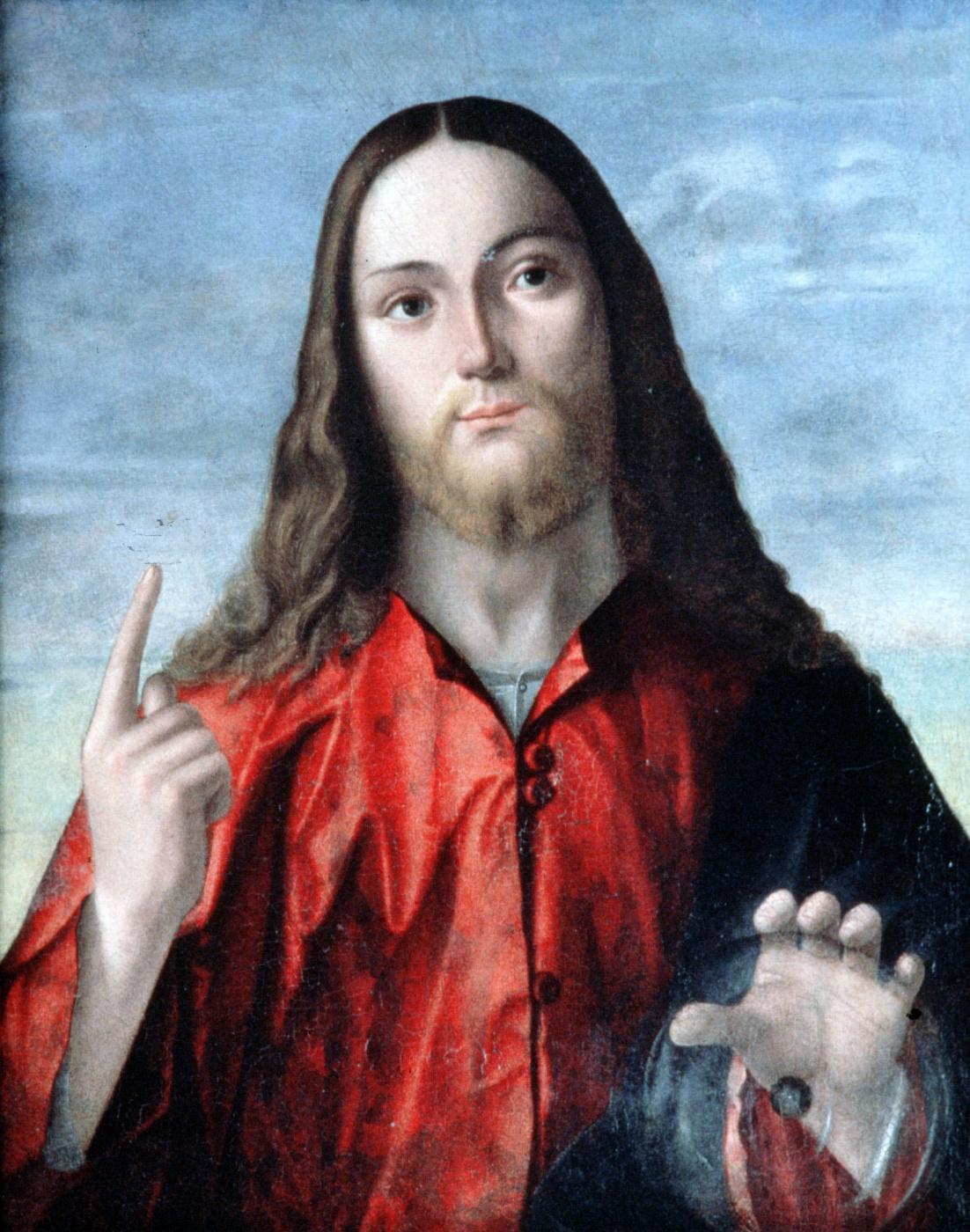 Vittore Carpaccio. The Savior of the world