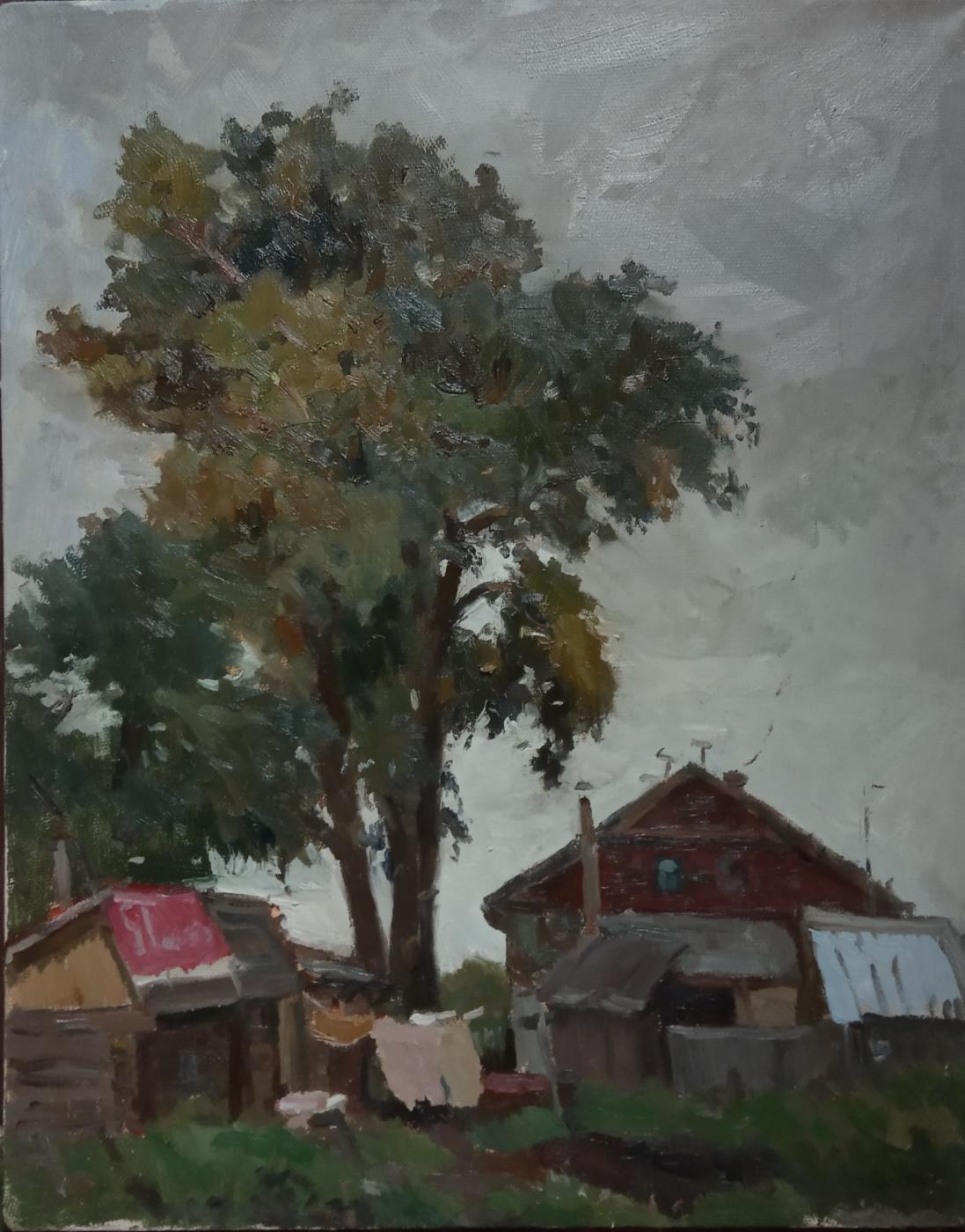 Anna Glazunova. On the outskirts