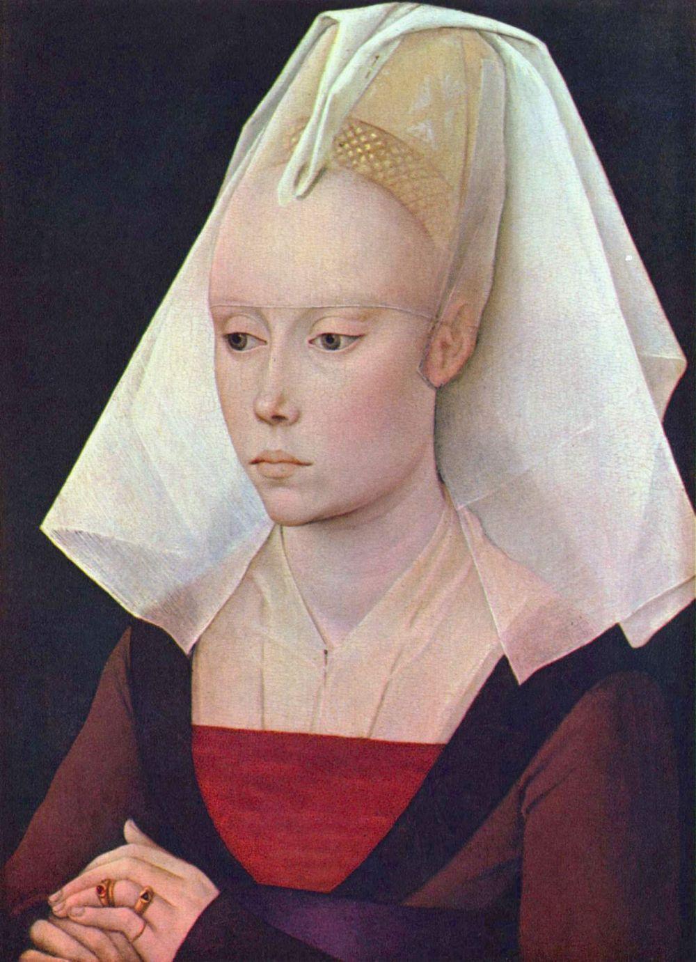 Рогир ван дер Вейден. Портрет дамы