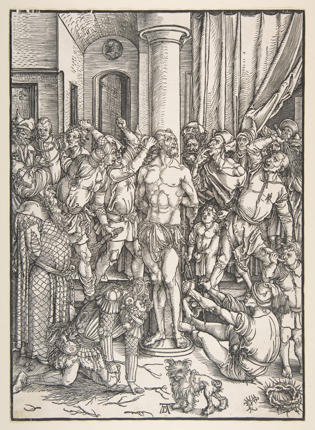 Albrecht Dürer. Flagellation Of Christ