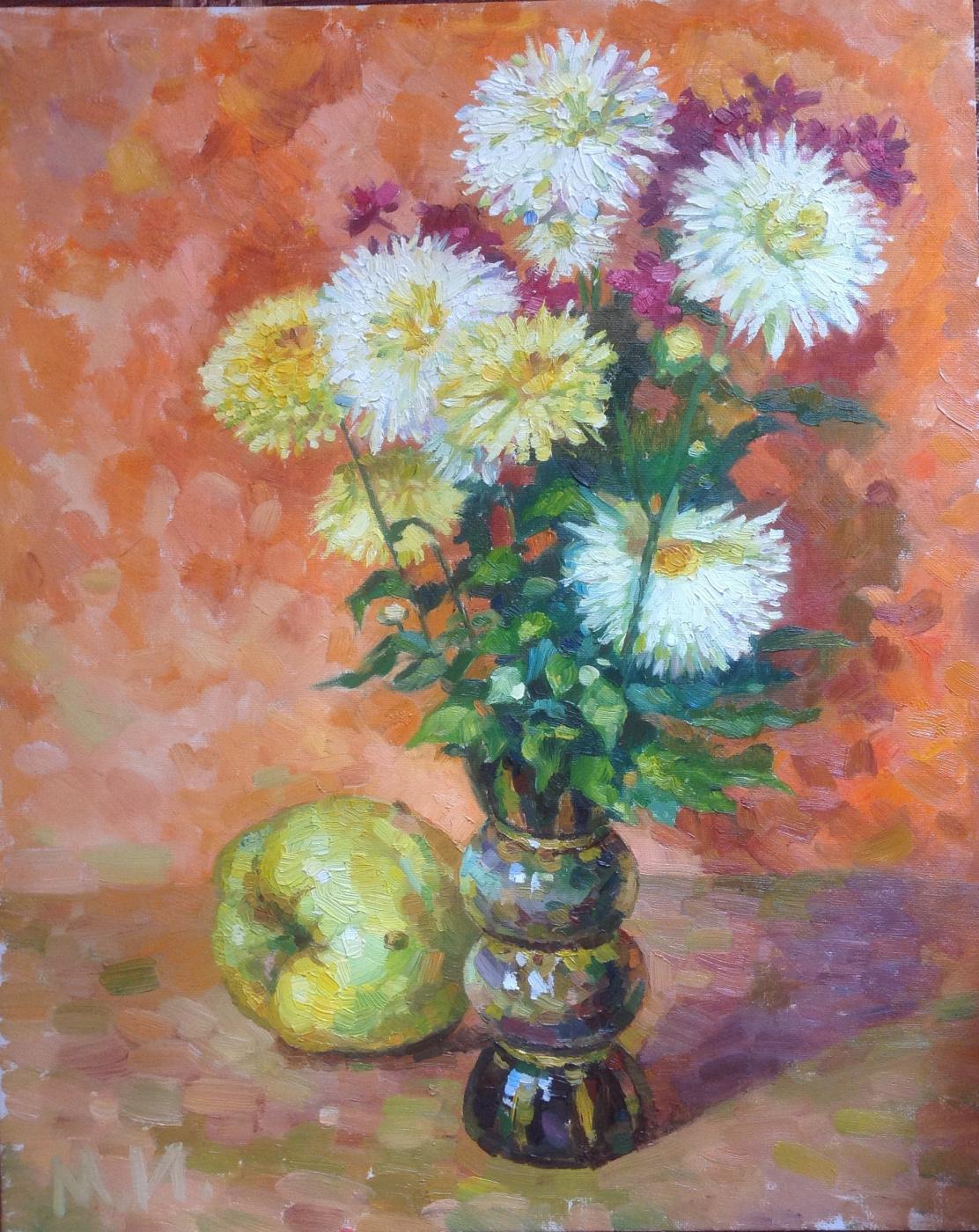 Irina Morenova. Chrysanthemums