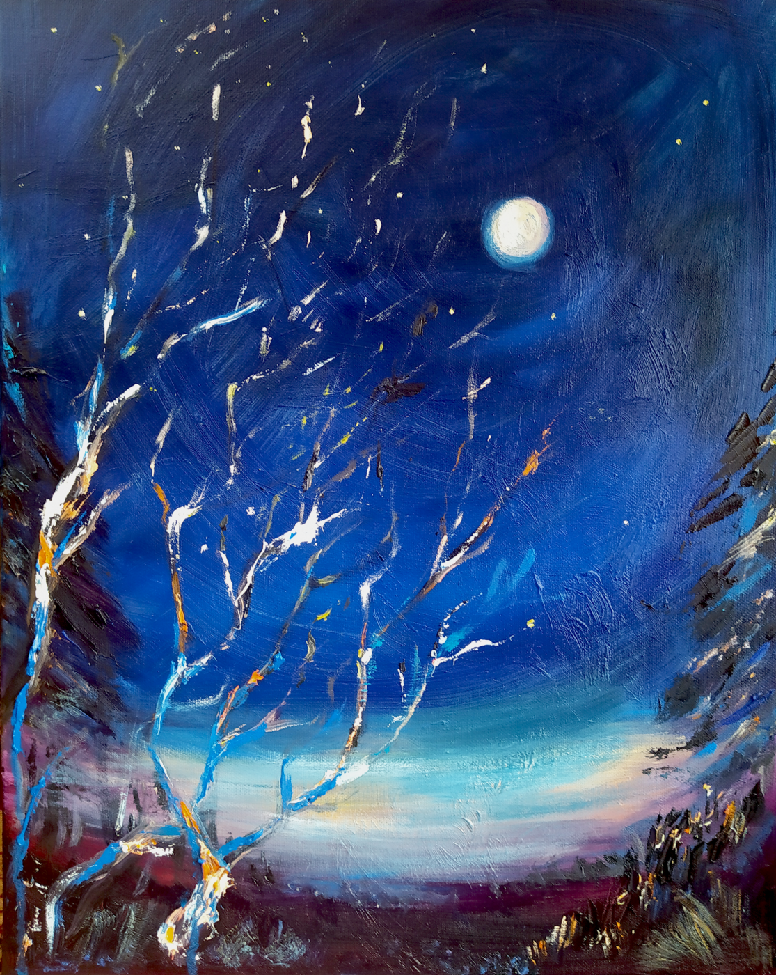 Naddalena. Winter full moon