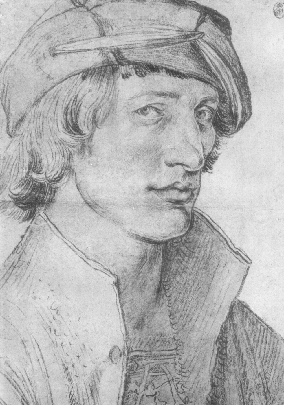 Albrecht Dürer. Portrait of a young man