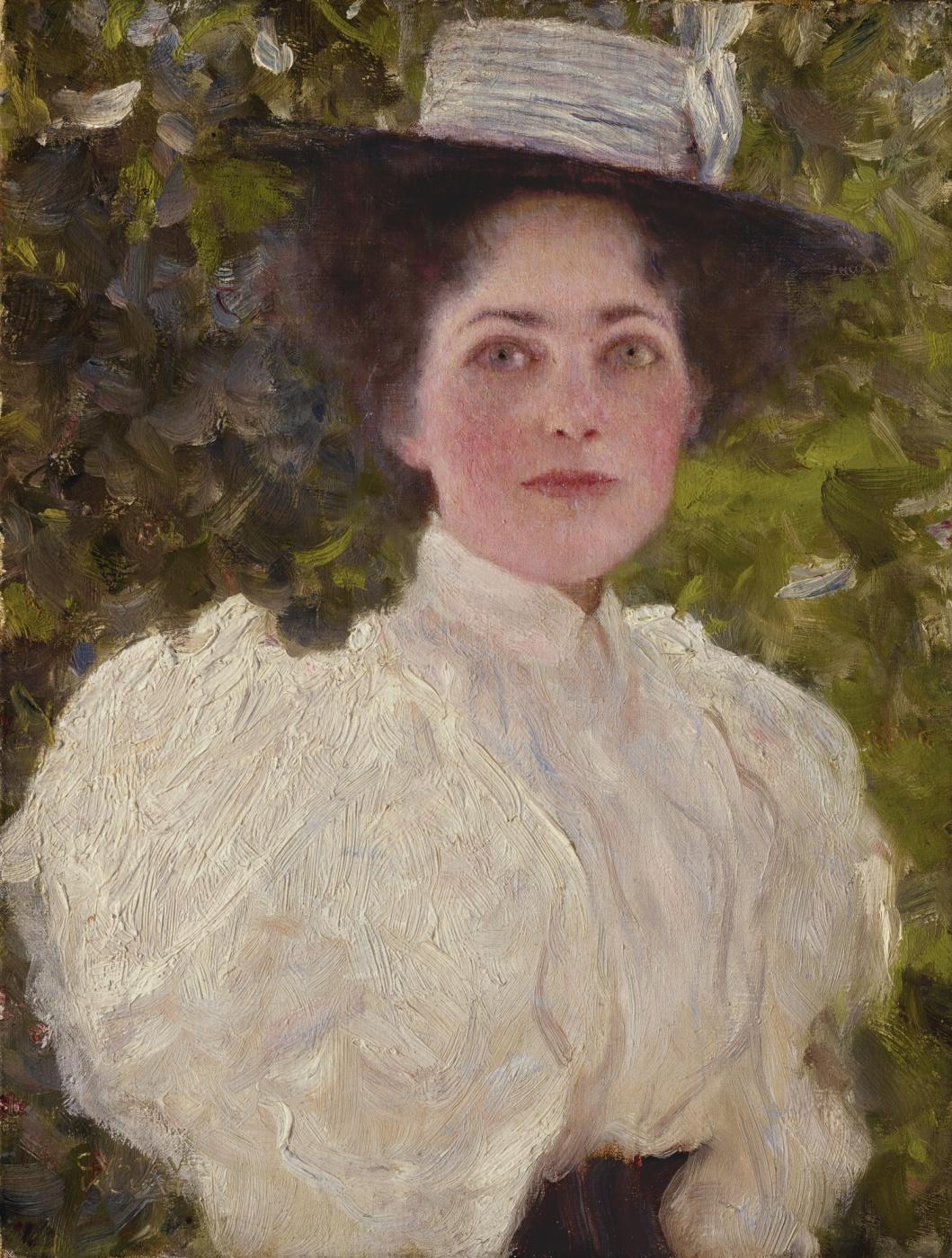 Gustav Klimt. The girl in the leaves