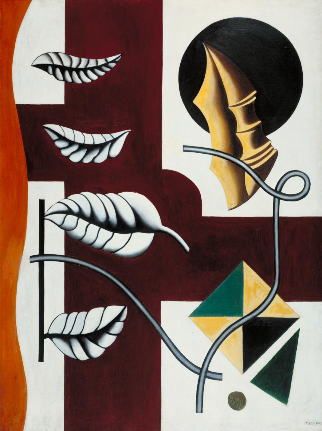 Fernand Leger. Leaves and Shell