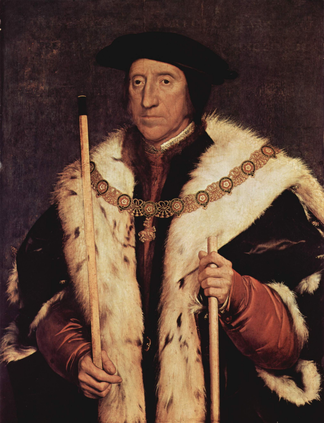 Hans Holbein the Younger. Portrait of Thomas Howard, Duke of Norfolk