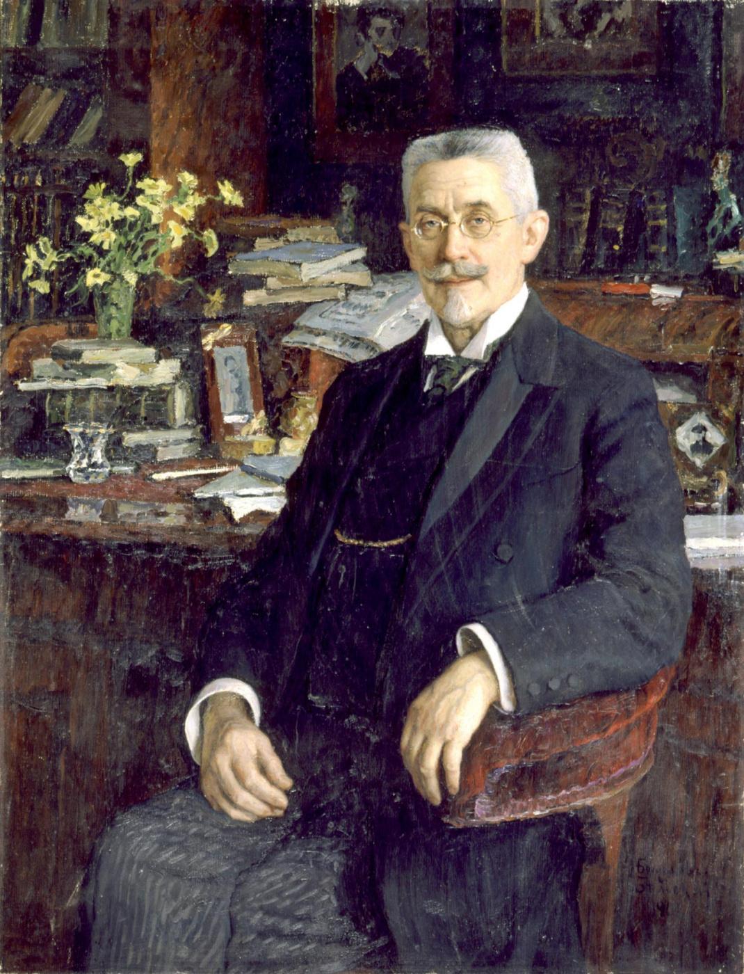 Nikolay Petrovich Bogdanov-Belsky. Portrait of V.I. Sergeevich