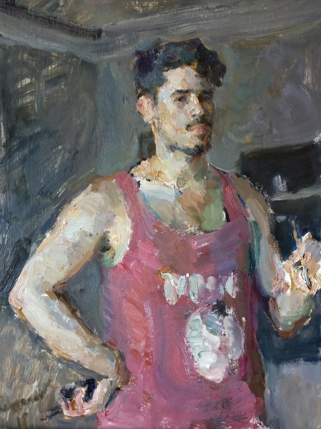 Samir Rakhmanov. Self-portrait