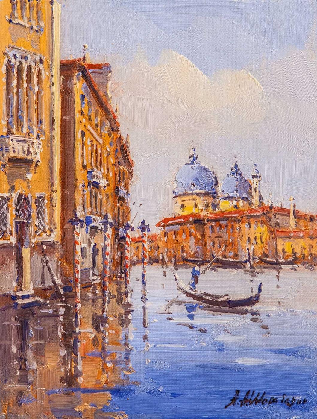Andrey Sharabarin. Dreams of Venice N17