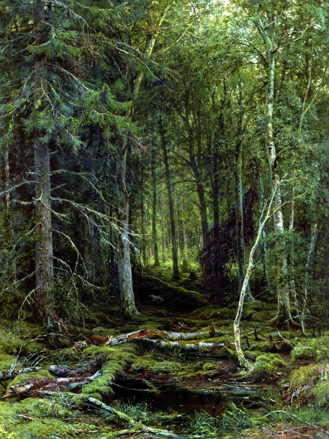 Ivan Ivanovich Shishkin. Backwoods