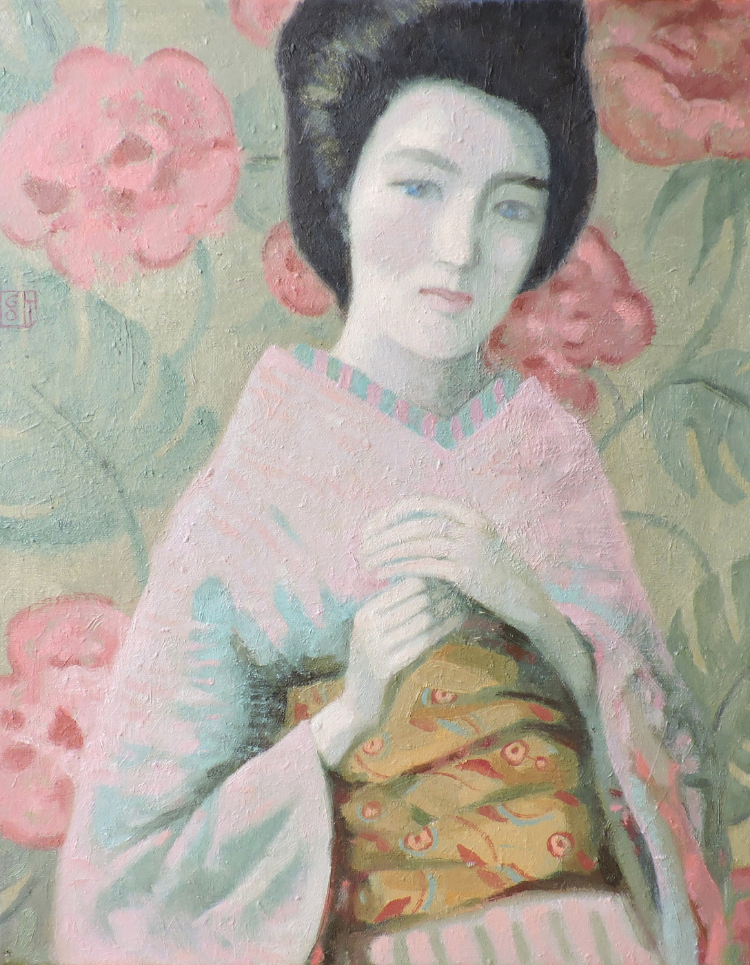 Olga Olegovna Gordienok. Japanese flower