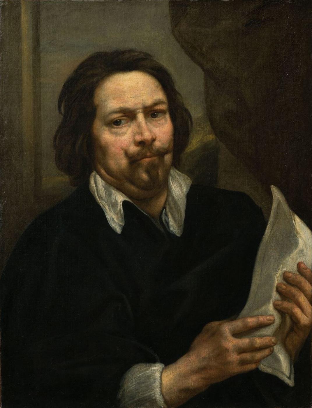 Якоб Йорданс. Self-portrait