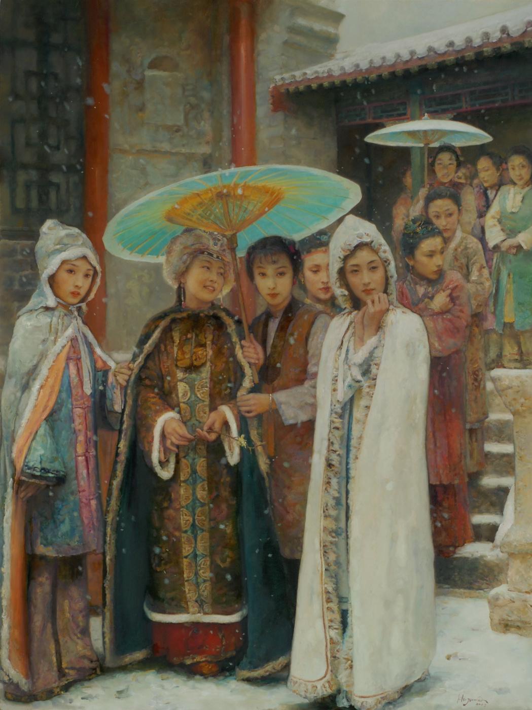 Hu Jun Di. First Snow