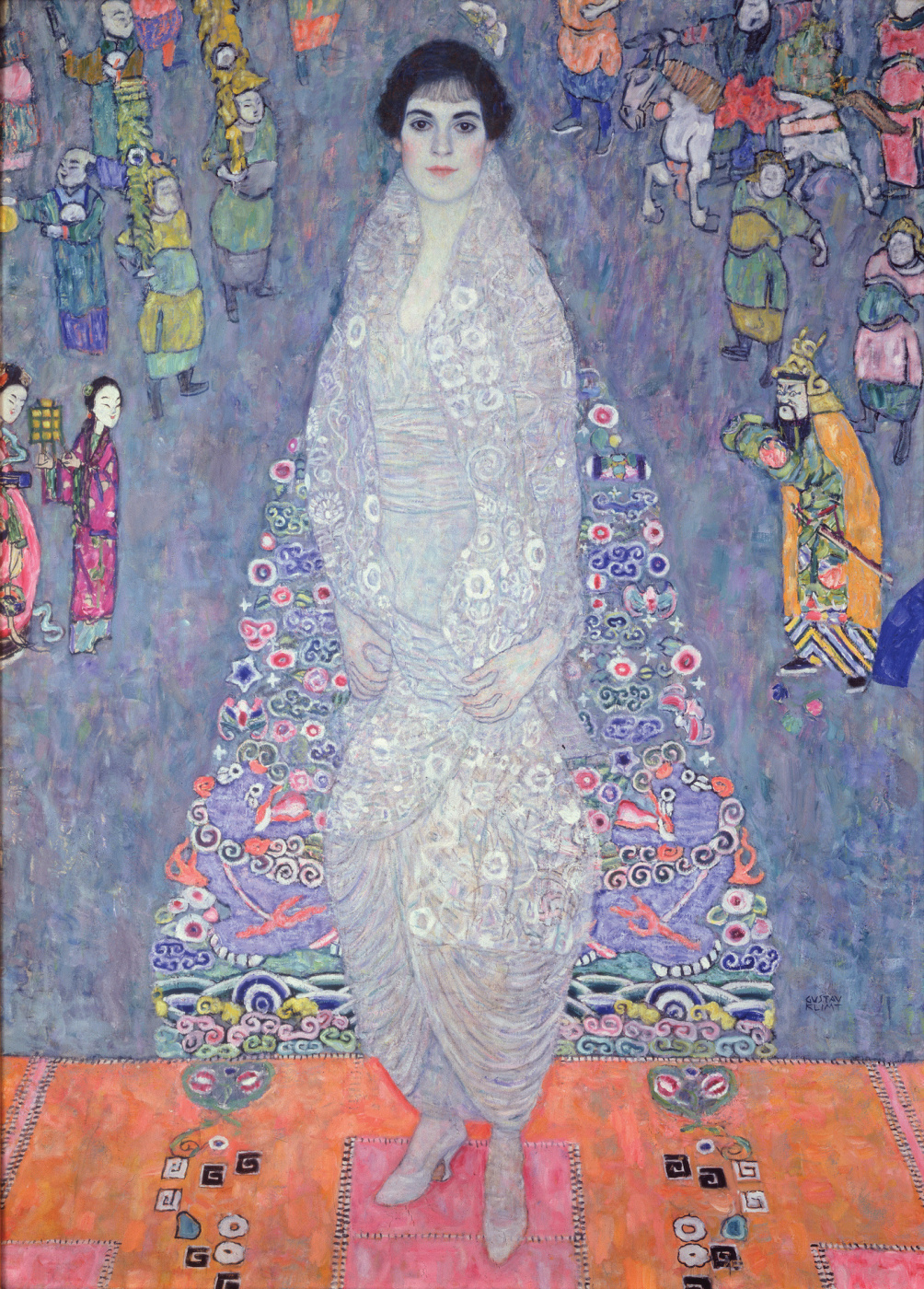 Gustav Klimt. Portrait of Elisabeth Lederer (Baroness Elizabeth Bachofen-Echt)
