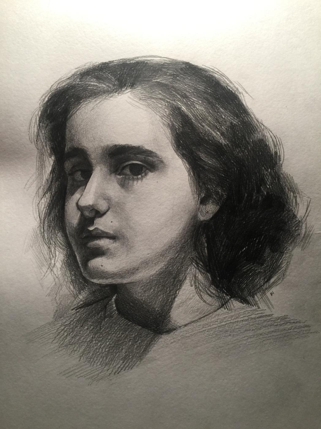 Diana Eminovna Rasulova. Self-portrait