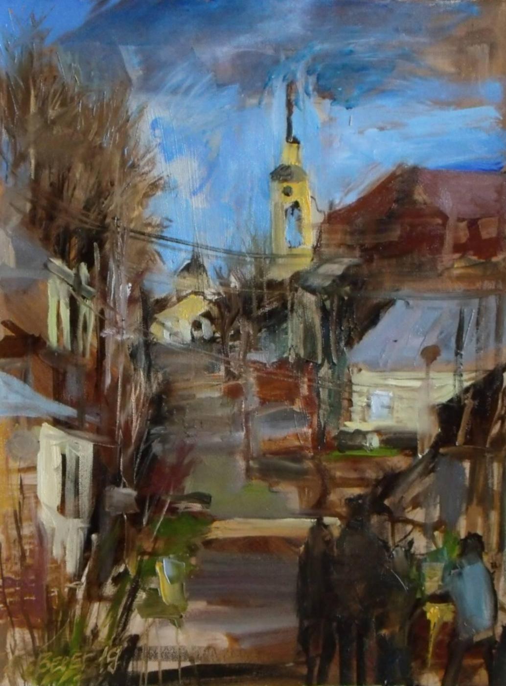 Sergey Bereg. Study in Borovsk