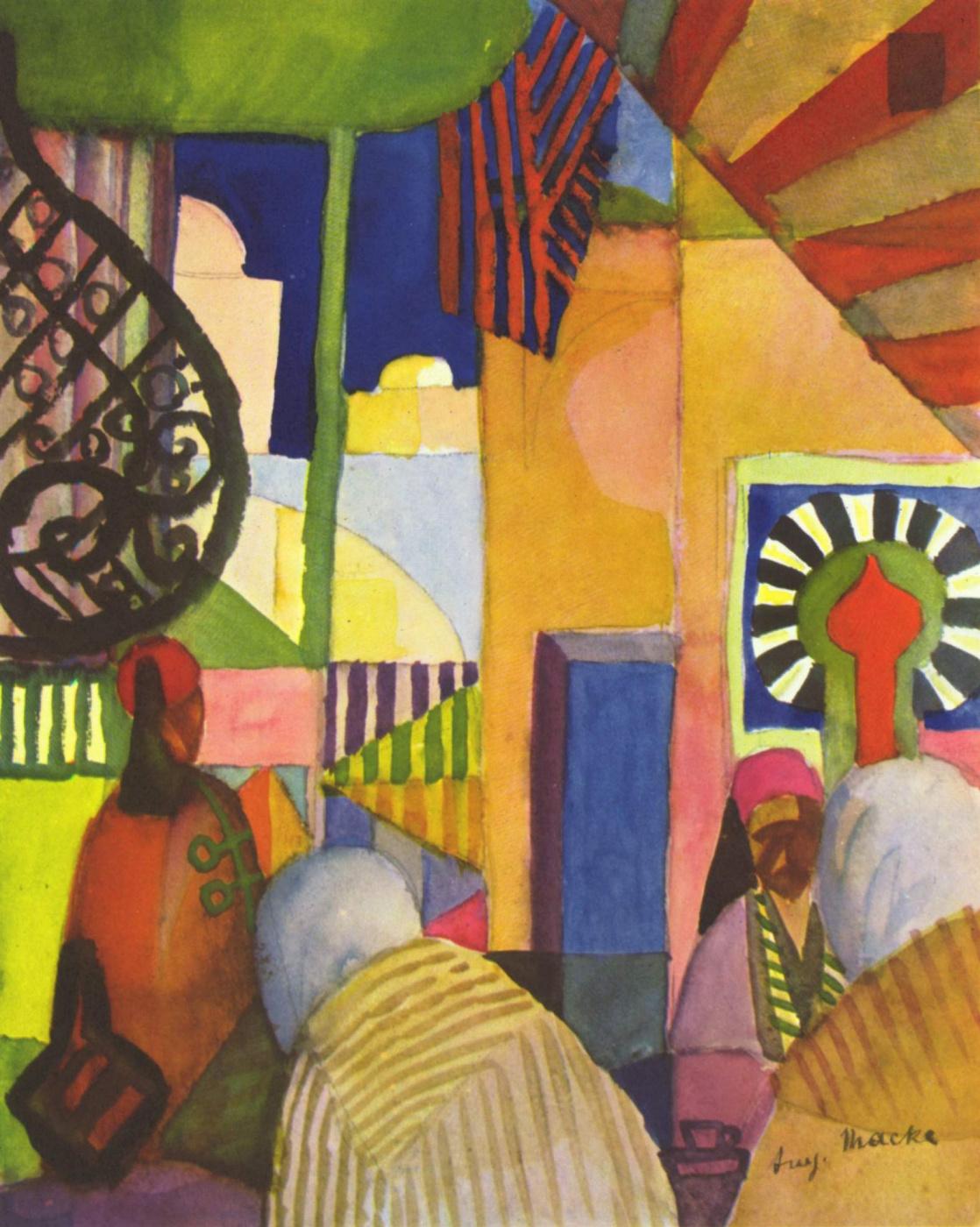 August Macke. On the market