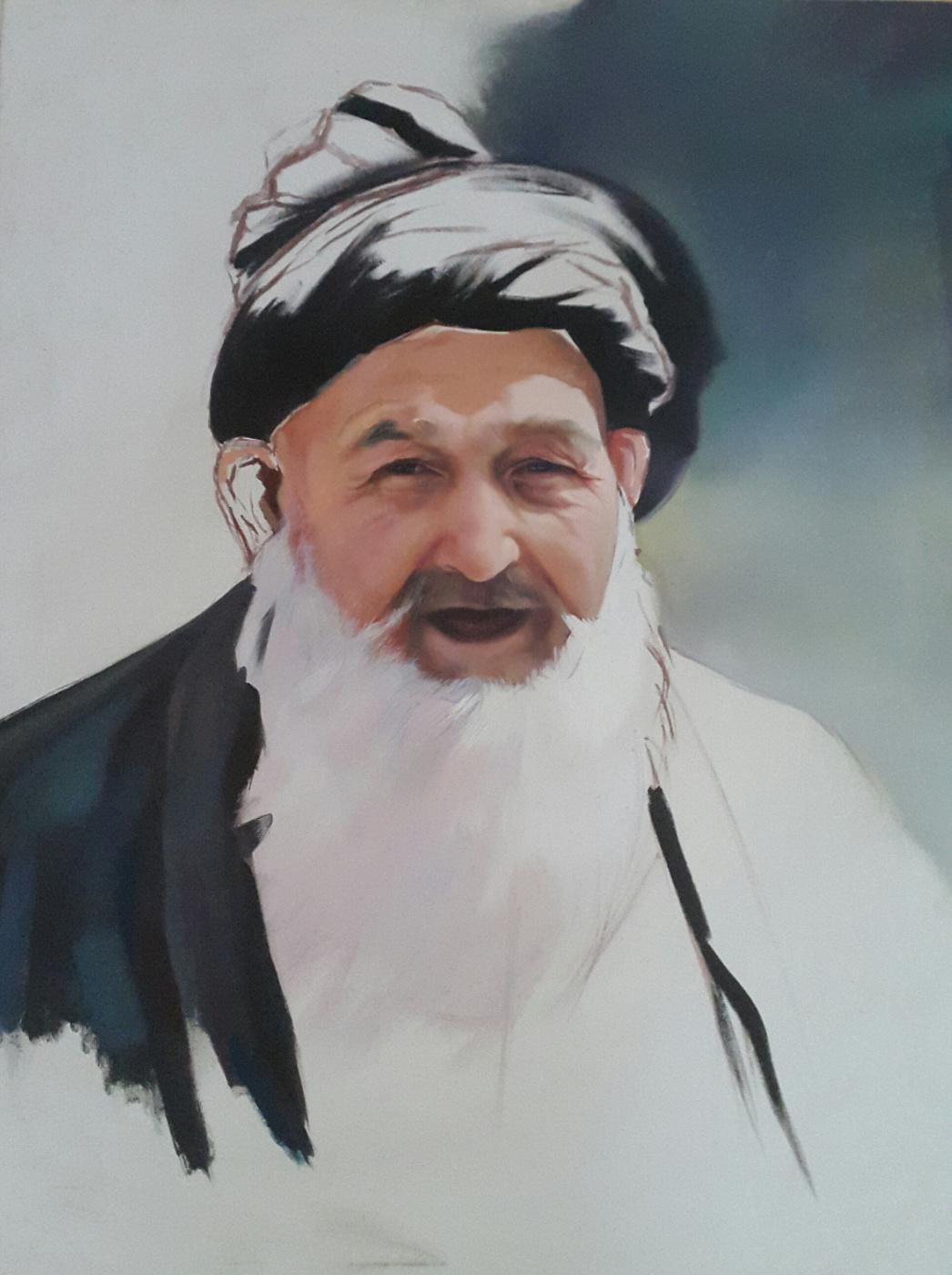 Bekhzod Ruzikulovich Boymurodov. Tajik old man