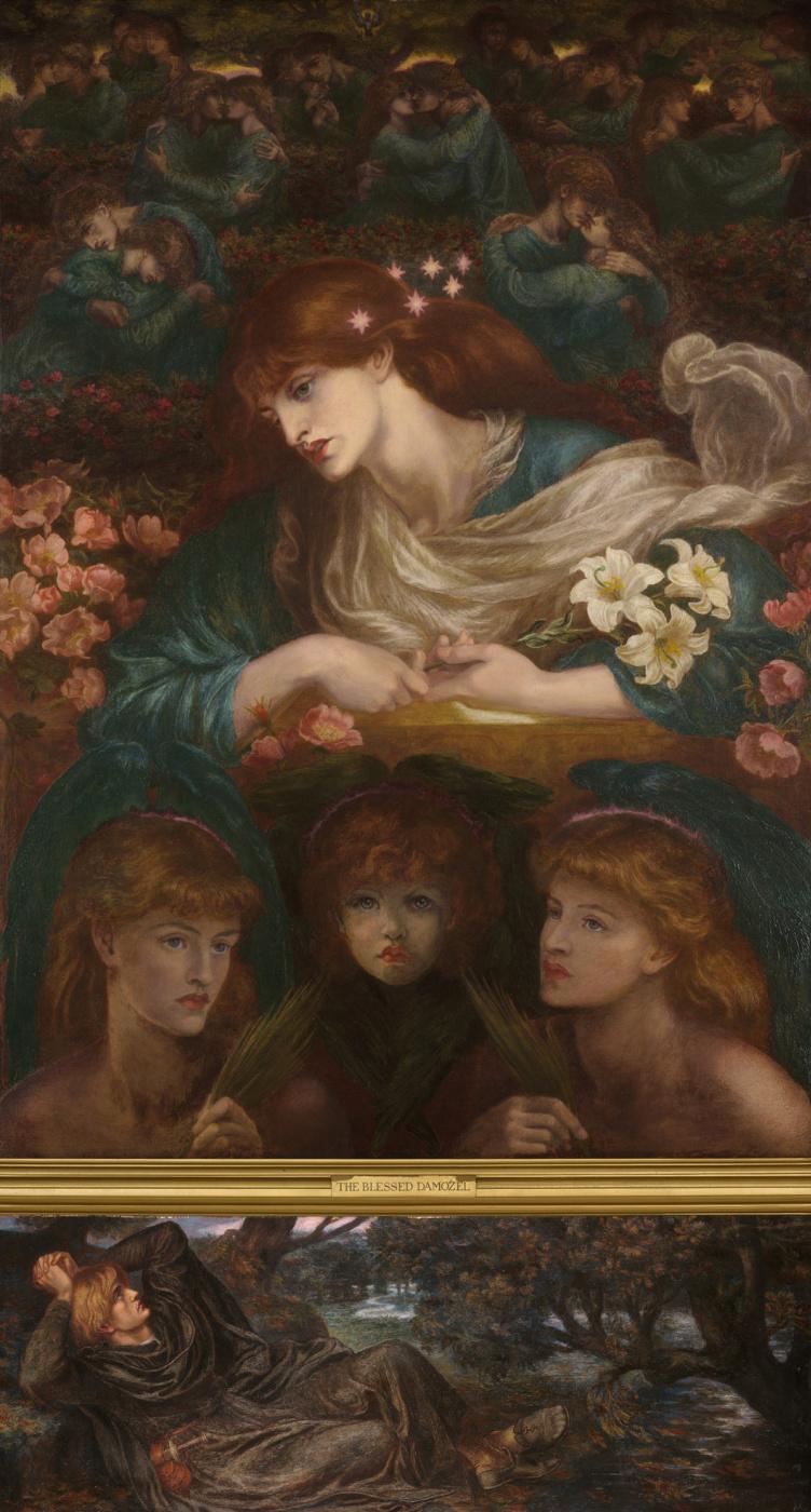 Dante Gabriel Rossetti. Blessed Virgin