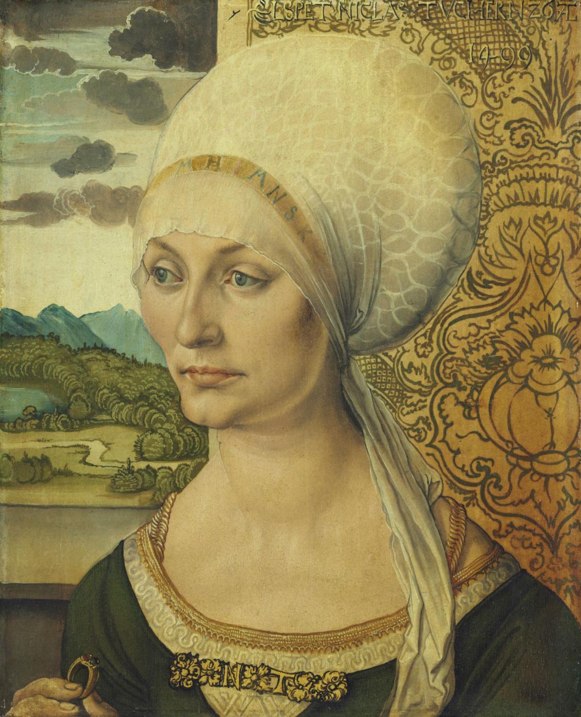 Albrecht Durer. Portrait Of Elsbeth Tucher