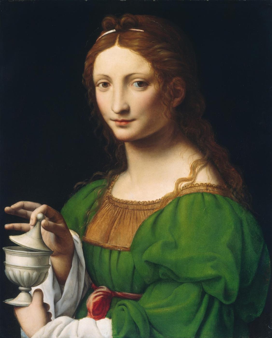 Bernardino Luini. St. Mary Magdalene
