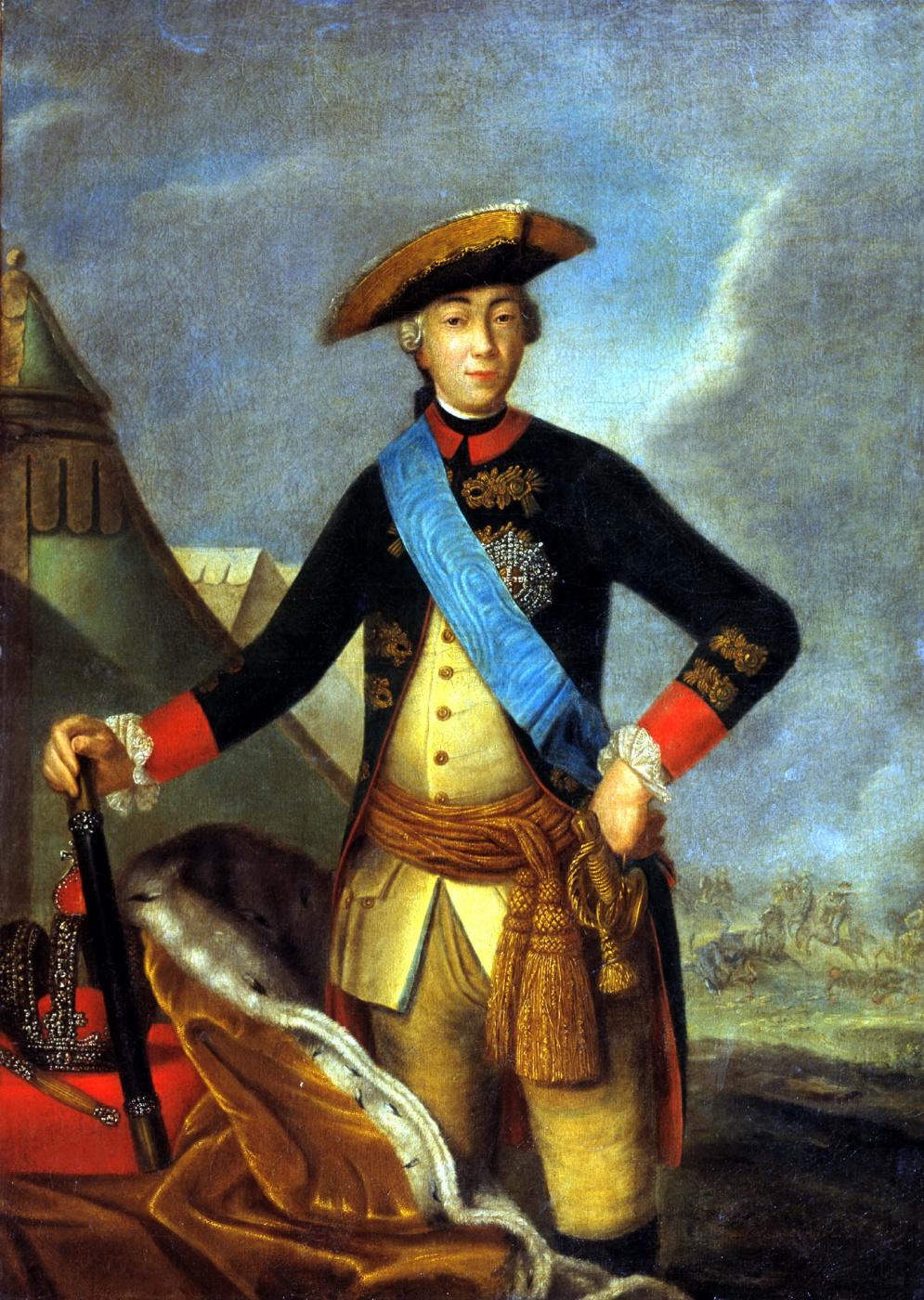Fedor Stepanovich Rokotov. Portrait of Peter III