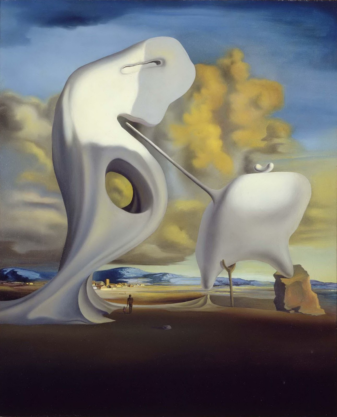"Salvador Dali. Architectonic ""Angelius"" Millet"