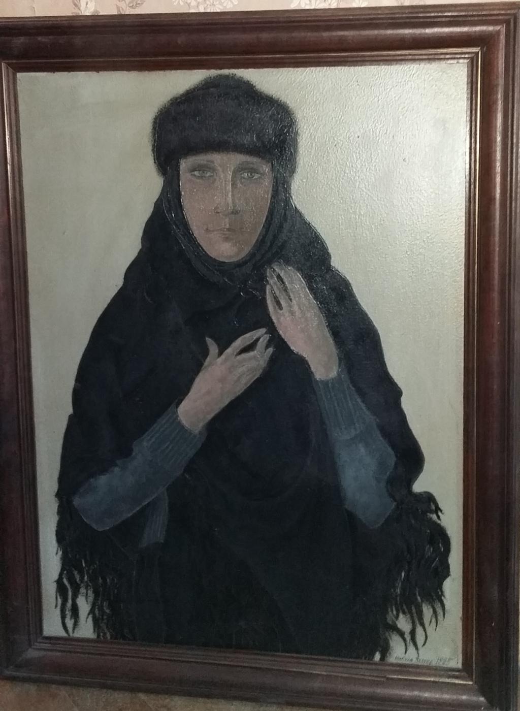 Nikolay Zverev. Woman in black