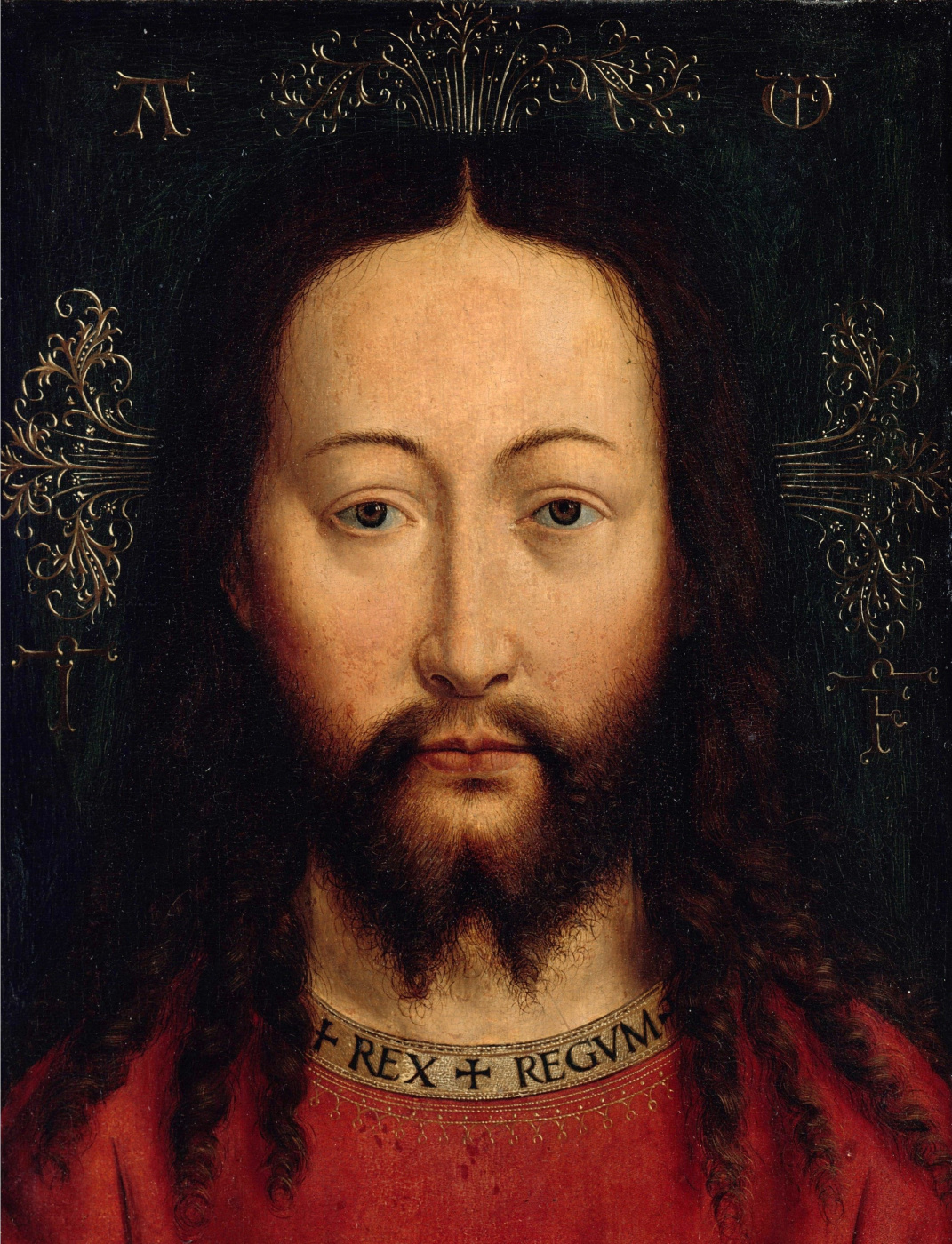 Jan van Eyck. The Face Of Christ