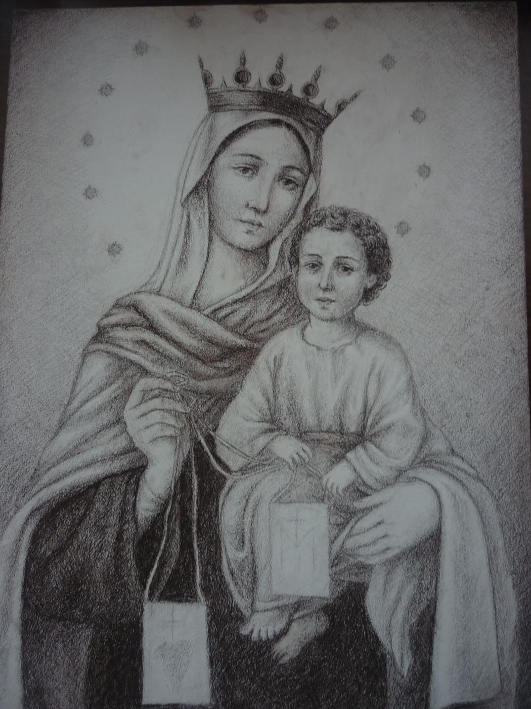 Michael Tarakanov. The Madonna and child